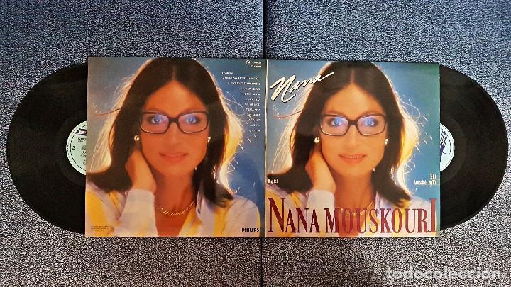 NANA MOUSKOURY - NANA. LP DOBLE. EDITADO POR PHILIPS. AÑO 1.987 (Música - Discos - LP Vinilo - Canción Francesa e Italiana)
