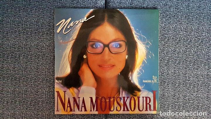 Discos de vinilo: Nana Mouskoury - Nana. LP Doble. editado por Philips. año 1.987 - Foto 2 - 191224467