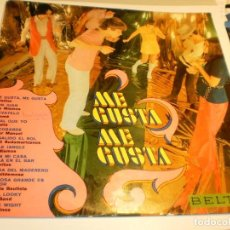 Discos de vinilo: LP ME GUSTA, ME GUSTA. LOS MISMOS, LOS GRITOS,, BELTER 1970 SPAIN (PROBADO Y BIEN). Lote 191227260