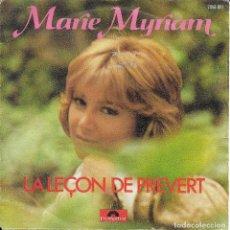Discos de vinilo: MARIE MYRIAM LA LEÇON DE PREVERT POLYDOR 1977. Lote 191238602