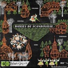 Discos de vinilo: DANSES DE SCANDINAVIE UNIDISC . Lote 191238842