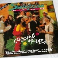 Discos de vinilo: SARAGOSSA BAND - COCONUT MEDLEY - 1993. Lote 191241342
