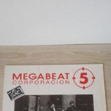 Discos de vinilo: MEGABEAT 5-BALADA PARA JET HARRIS-VINILO-MINI LP 33 RPM-AÑO 1991.. Lote 191248383