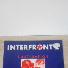 Discos de vinilo: INTERFRONT 2-MEGABEAT-VINILO-MINI LP 33 RPM-AÑO 1991.MUY DIFÍCIL.. Lote 191249455