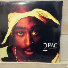 Discos de vinilo: 2PAC–RAP & REVOLUTION (INSTRUMENTALS ) 2 LP'S VINILO. PRECINTADO. Lote 191254561