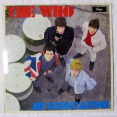 Discos de vinilo: LP VINILO THE WHO MY GENERATION 1965 ED. INGLESA U.K.. Lote 191254888