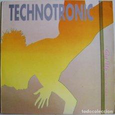 Discos de vinilo: TECHNOTRONIC - GET UP - MAXI-SINGLE MAX MUSIC 1989. Lote 191262161