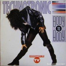 Discos de vinilo: TECHNOTRONIC – BODY TO BODY - LP SPAIN 1991. Lote 191265552