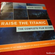 Discos de vinilo: RAISE THE TITANIC COMPLETE FILM SCORE BSO OST JOHN BARRY LP 2106 SILVA SCREEN EU. Lote 191276993