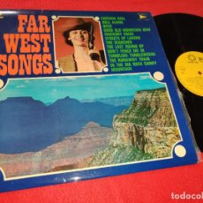 Discos de vinilo: LEN ELLIS&THE ROCKY MOUNTAINS OL'TIME STOMPERS FAR WEST SONGS LP 1975 SPAIN ESPAÑA WESTERN EX. Lote 191277137