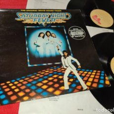 Discos de vinilo: SATURDAY NIGHT FEVER B. OAKES BSO OST 2LP 1977 RSO EDICION ESPAÑOLA SPAIN GATEFOLD. Lote 191277515