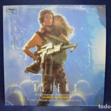 Discos de vinilo: JAMES HORNER - ALIENS (ORIGINAL MOTION PICTURE SOUNDTRACK) - LP. Lote 191277953