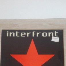 Disques de vinyle: INTERFRONT-INVISIBLE 1-MEGABEAT-VINILO-LP 33 RPM-AÑO 1990.. Lote 191278967