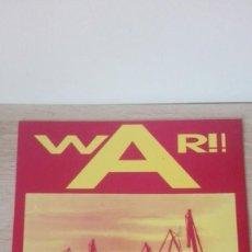 Discos de vinil: WAR¡¡-MEGABEAT-VINILO-LP 33 RPM-AÑO 1990.. Lote 191279112