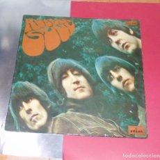 Discos de vinilo: THE BEATLES --- RUBBER SOUL -- LEVEL AZUL FUERTE--- 1ª EDICION ESPAÑA AÑO 1966 -- MOCL 5.300***COL**. Lote 189644373