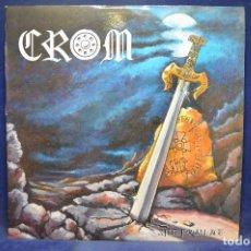 Discos de vinilo: CROM - STEEL FOR AN ANGEL - LP. Lote 191283290