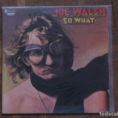 Discos de vinilo: JOE WALSH. SO WHAT. GATEFOLD. ABC RECORDS, 17.1057/6. ESPAÑA,1976. FUNDA VG+. DISCO VG++.. Lote 191287521