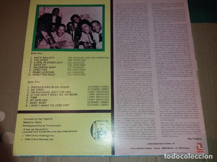 Discos de vinilo: THE UPSETTERS, THE NEW ORLEANS CONNECTION LP, CHARLY RB 1988 - Foto 2 - 191300323