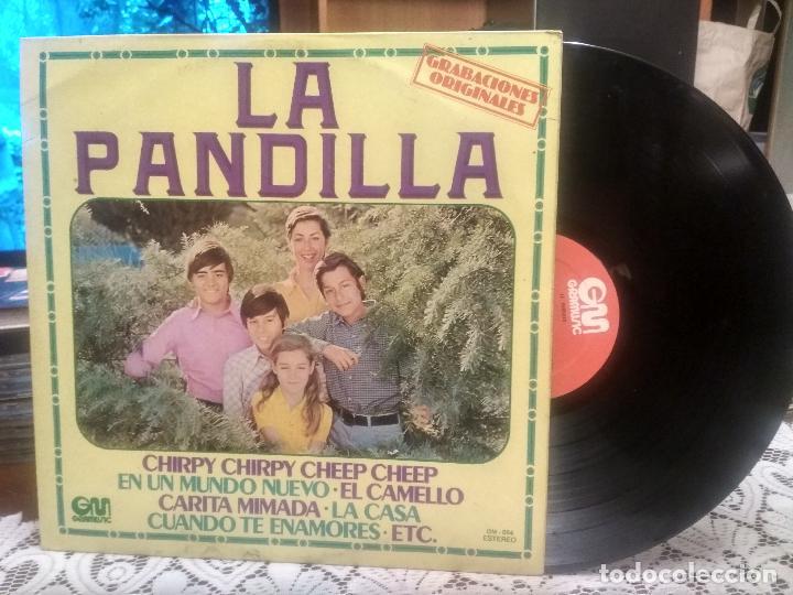 LA PANDILLA. CHIRPY CHIRPY CHEEP CHEEP. EN UN MUNDO NUEVO. EL CAMELLO LP GM 1978 PEPETO (Música - Discos - LPs Vinilo - Música Infantil)