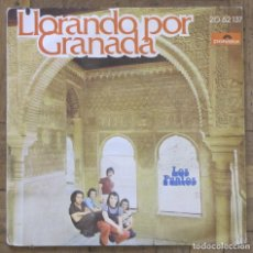 Discos de vinilo: LOS PUNTOS. LLORANDO POR GRANADA; TAN BONITA COMO UN ROCK. POLYDOR, 20 62 137.1974.. Lote 191320238