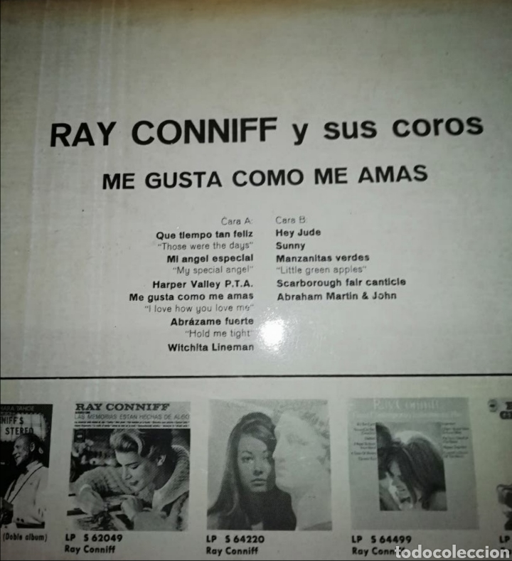 Discos de vinilo: Ray connift - Foto 3 - 191322045