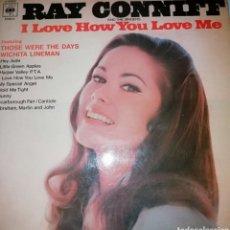 Discos de vinilo: RAY CONNIFT. Lote 191322045