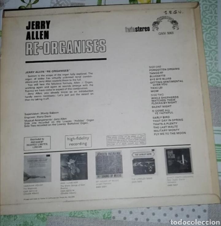 Discos de vinilo: Jerry Allen?–Re-Organises - Foto 2 - 191322332