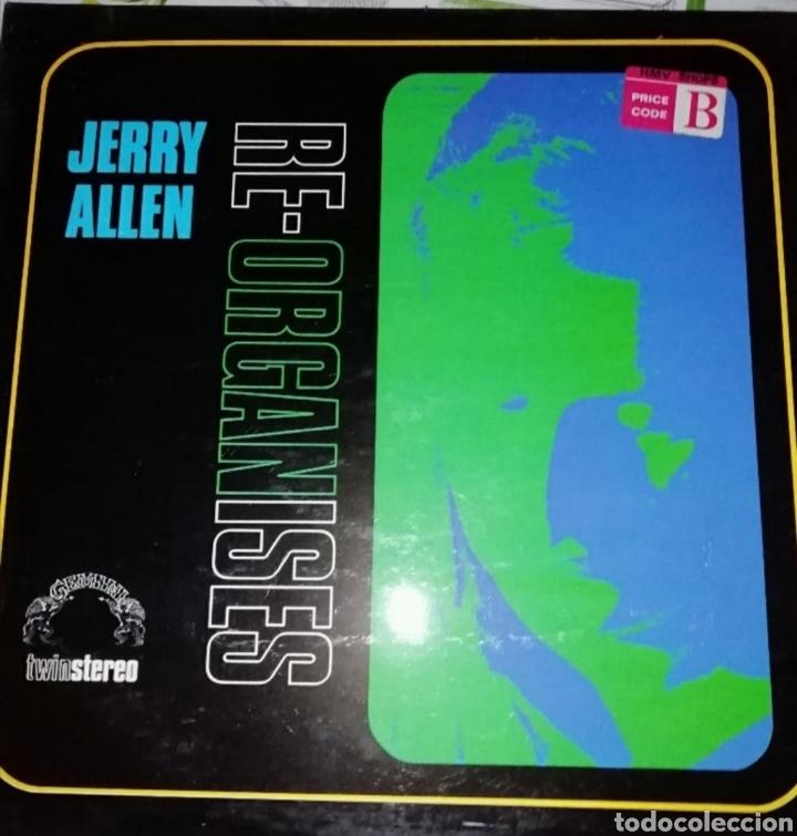 JERRY ALLEN?–RE-ORGANISES (Música - Discos - LP Vinilo - Jazz, Jazz-Rock, Blues y R&B)
