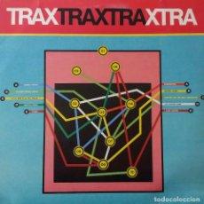 Discos de vinilo: TRAX XTRA, LP ORIGINAL ITALIA + FUNDA INTERIOR CRÉDITOS. EDICIÓN LIMITADA DE SOLO 1.000 COPIAS. Lote 191326886