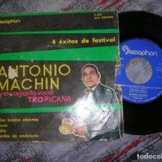 Discos de vinilo: DISCO DE ANTONIO MACHIN Y EL CONJUNTO VOCAL TROPICANA. Lote 191332316