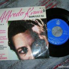 Discos de vinilo: DISCO DE ALFREDO KRAUS ROMANZAS DE ZARZUELA VOL,4. Lote 191332487