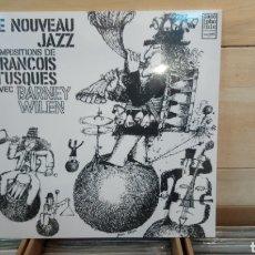 Discos de vinilo: FRANÇOIS TUSQUESAVECBARNEY WILEN–LE NOUVEAU JAZZ. LP VINILO PRECINTADO. Lote 191337935