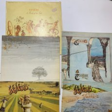 Discos de vinilo: LOTE LP GENESIS WIND AND WUTHERING NURSERY CRYME FOXTROT TRESPASS A TRICK OF THE TAIL. Lote 191339498