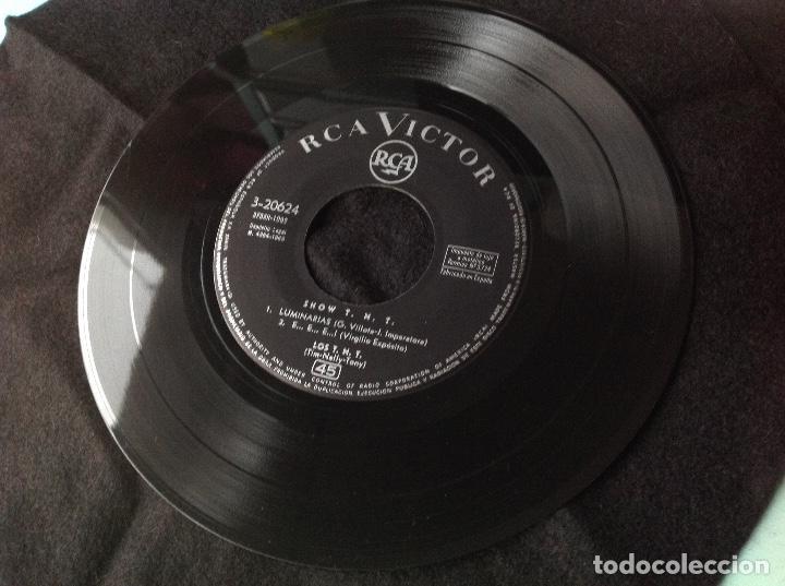 Discos de vinilo: LOS T N T -- LUMINARIAS // LA HORA DEL AMOR // +2 // EP RCA 1963 - Foto 2 - 191346281
