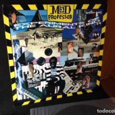 Discos de vinilo: MAD PROFESSOR – DUB ME CRAZY VOLUME 8: EXPERIMENTS OF THE AURAL KIND, LP 1988 ARIWA UK.. Lote 191350380