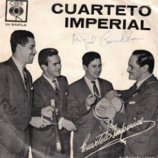 Discos de vinilo: CUARTETO IMPERIAL - TRINIDAD + 1 - SG EDICION ARGENTINA . Lote 191351245
