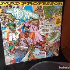 Discos de vinilo: MAD PROFESSOR – DUB ME CRAZY PART 11: HI-JACKED TO XAYMACA (JAMAICA) LP 1991 ARIWA UK.. Lote 191352410