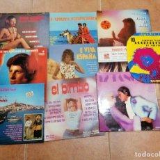 Discos de vinilo: LOTE DE 10 DISCOS ESPAÑOLES. Lote 191356445