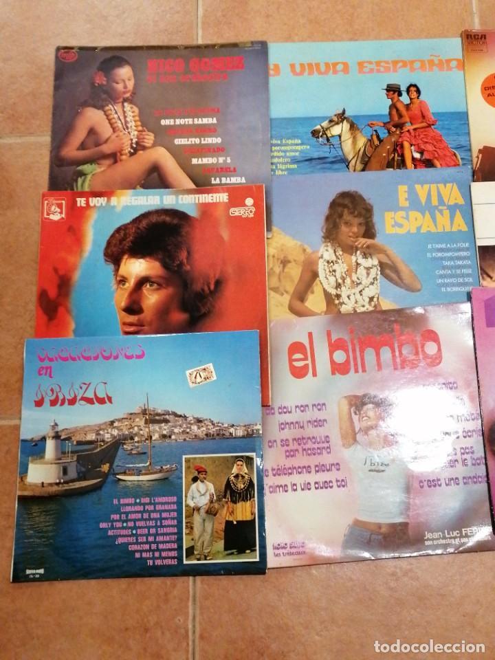 Discos de vinilo: Lote de 10 discos españoles - Foto 2 - 191356445