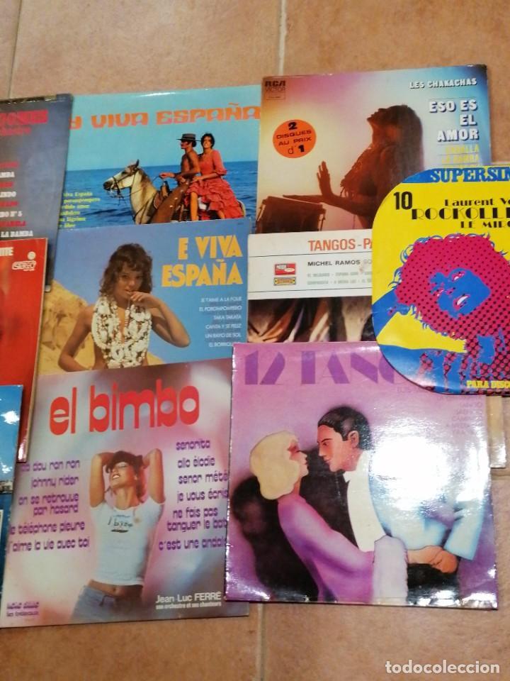 Discos de vinilo: Lote de 10 discos españoles - Foto 3 - 191356445