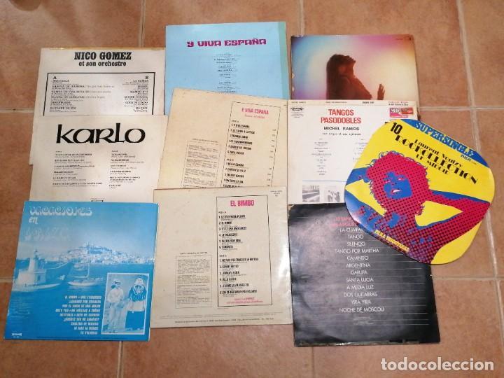 Discos de vinilo: Lote de 10 discos españoles - Foto 4 - 191356445