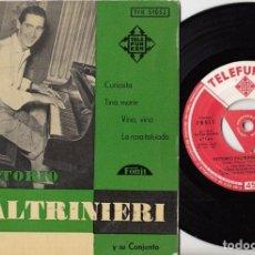 Disques de vinyle: VITTORIO PALTRINIERI - CURIOSITA - EP ESPAÑOL DE VINILO - TELEFUNKEN #. Lote 191361623