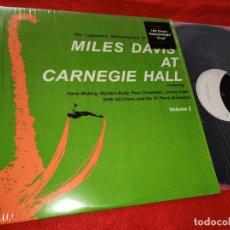 Discos de vinilo: MILES DAVIS AT CARNEGIE HALL VOLUME 2 LP 2015 DOL 180 GRAMS EX. Lote 191364195