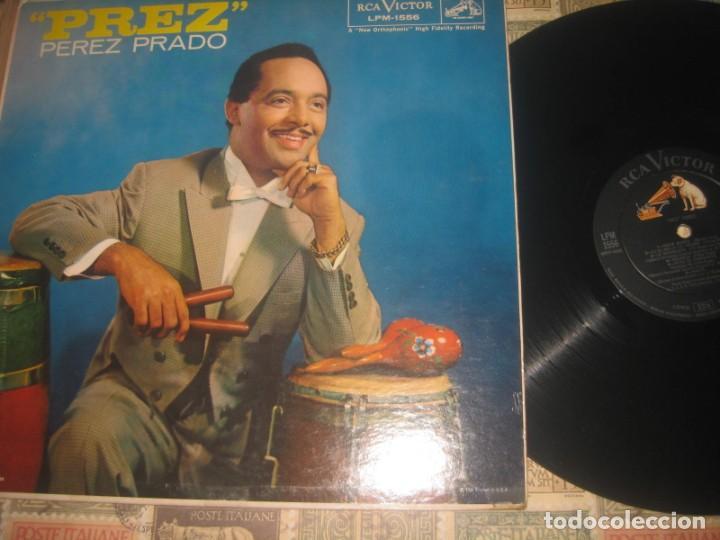 PEREZ PRADO PREZ LP (RCA-VICTOR -1958) OG PRIMERA EDICION MONO USA EXCELENTE ESTADO (Música - Discos - LP Vinilo - Pop - Rock Extranjero de los 50 y 60)
