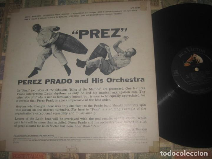 Discos de vinilo: perez prado prez Lp (rca-victor -1958) og primera edicion mono usa excelente estado - Foto 2 - 191367052