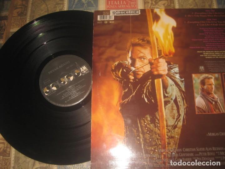 ROBIN HOOD, PRINCE OF THIEVES - MÚSICA DE BRYAN ADAMS - BANDA SONORA ORIGINAL - MAXI SINGLE 4 TEMAS (Música - Discos de Vinilo - Maxi Singles - Bandas Sonoras y Actores)