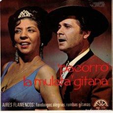 Discos de vinilo: PACORRO Y LA MULATA GITANA - EP BERTA SPAIN 1966. Lote 191372396