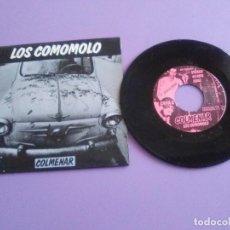 Discos de vinilo: EP ROCK N ROLL. LOS COMOMOLO.COLMENAR/LAS PERRAS/LA RUINA TOTAL. MUNSTER RECORDS.TFOSR7007. AÑO 1989. Lote 191385390