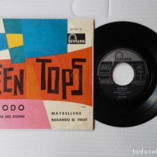 Discos de vinilo: TEEN TOPS - EP - EXODO + 3 - FONTANA 467 265 TE (1962). Lote 191391185
