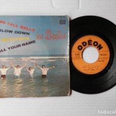 Discos de vinilo: BEATLES - LONG TALL SALLY + 3 - ODEON SOE 3755 - FR.. Lote 191392655